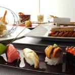 ホテル7Fにある日本食レストラン。ホテルならではの上質なサービスと、料理人の熟練の技が光るお料理の数々。日常を忘れる優雅な時間をお楽しみください。