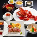 季節の魚貝と旬の野菜のネタをお楽しみいただける鮨コースです。