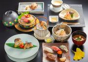 日本食「雅庭」のディナーグループプランです。会席料理と心に残る会を演出します。3つの会席コースよりお選びいただけるディナープランをご用意。2~18名様までご利用いただける個室もぜひご利用ください。