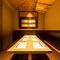 ご宴会に最適なゆったり広々とした個室空間。