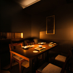 歓送迎会や宴会など、お集まりに個室で天ぷらコース。 個室でも揚げたての天婦羅をお召し上がりいただけます。