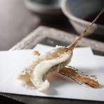 天麩羅にしか出来ない不思議な魚 磯の香がうまい