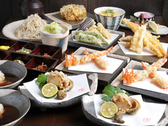 旬菜・旬魚も入った当店一番人気のコース