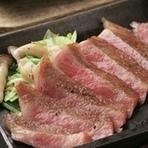 近江牛デミグラスハンバーグに【ご飯、味噌汁・サラダ・漬物】が付属します。 ※写真はイメージです。