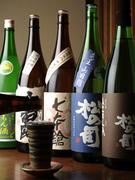 近江の地酒も多数ご用意。
