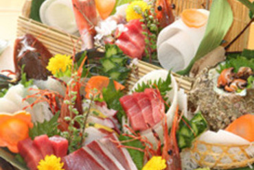 相模湾の鮮魚刺身盛り