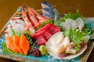 【刺身】海鮮刺し盛り!
