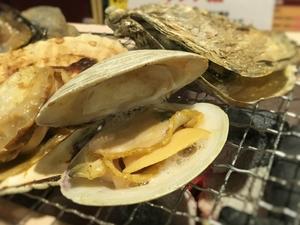 【七輪炉端焼き】北海道産の魚介等を豪快に七輪で焼く!