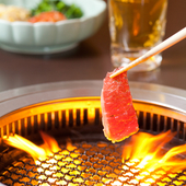 炭火を使用しておりますので素材本来の味を最大限に引き出します