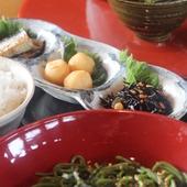 茶そばランチ(デザート付)
