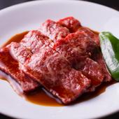 やわらかくて風味がよい肉を使った『上モモ肉』