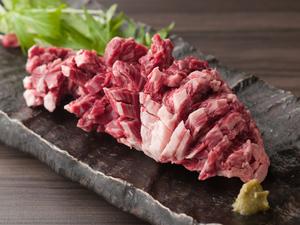柔らかくて食べごたえも十分な『黒毛和牛厚切りハラミダブル』