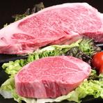 食べるべき一品・・・・黒毛和牛サーロイン&ヒレ