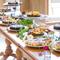 4名様~20名様までで楽しめるプランが誕生!男性も大歓迎!!大皿ビュッフェスタイルのお料理です。