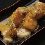 鶏もも鉄板焼(甘辛たれ)