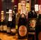 ワインは100種類と大充実