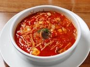 コクのあるスープがおいしい『真夜中のスパゲティ』