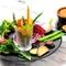 新鮮な旬野菜は甘みも旨さも濃厚