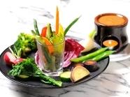 野菜でヘルシー『おいしい野菜のオーケストラ バーニャカウダ』