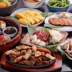 天白平針で宴会「宴会コース肉フェス¥3500」内容充実間違えない