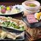 宴会コース料理は4000円~ご用意。