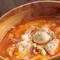 海の幸ピリ辛トマトスープ