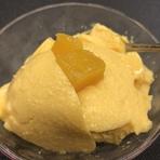 自家製肉みそがうまい! 中国山椒の香りと辛みとともに味噌が細麺に絡んで絶妙なおいしさです。