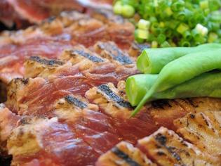 『炙った魚料理』