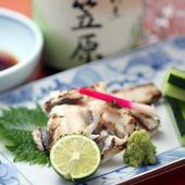 旬菜や珍味を楽しめる前菜・一品料理もご用意