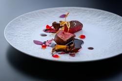 キンキ味噌田楽とたらばがにがセットのフルコースです。〆はえりも蕎麦で。(お料理のみの価格です)