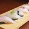 紀伊長島産の新鮮な魚介をお寿司でもお楽しみ頂けます