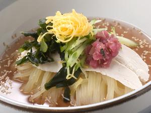 紀州梅だれ冷麺