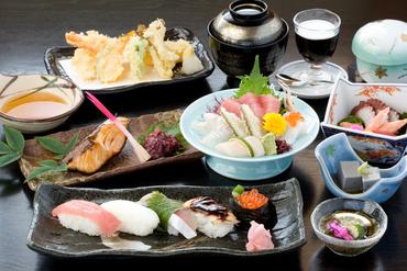 寿司懐石コース 5000円