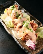 鶏のから揚げ カツオマヨネーズソース