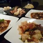 パーティーなどには本物の中華をリーズナブルな価格で楽しめる『おまかせディナーコース』がおすすめ