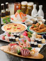 ボリュームたっぷりの宴会コースは3000円から!