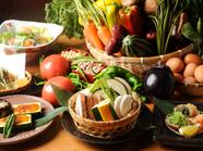 こだわり大和野菜の一品