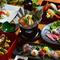 厳選食材をふんだんに使った会席風コース「八寳コース6000円」(お品例)