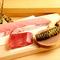 寿司の王道『マグロ』は部位ごとに味わいたい