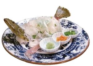 長崎鯖の活造り