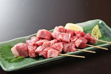 黒毛和牛の串焼き