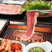 常陸牛サーロイン焼きシャブ Hitachi Beef Sirloin Grilled Shabu-shabu