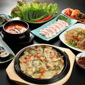 本場料理人が作る韓国料理