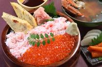 豪華な食材をふんだんに使った、贅沢メニューが人気