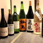 日本酒おまかせコース 4杯