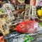 長浜で獲れた新鮮な魚と糸島産の野菜