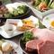 ★最高のお肉を彩る充実したコース料理も人気の一つ★