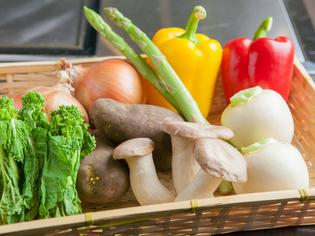 A5等級のお肉を引き立てる野菜ソムリエ厳選の旬野菜