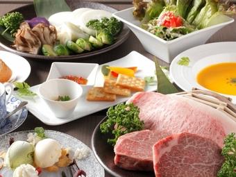 【歓送迎会に】神戸牛ステーキコース