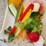 地元産野菜のバーニャカウダー